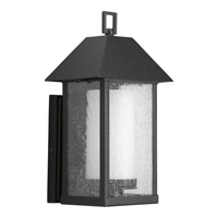 Progress Lighting Domino 1 Light Outdoor Wall in Black P5939-31