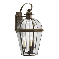 Progress Lighting Danbury 3 Light Outdoor Wall Lantern in Antique Bronze P5940-20 photo thumbnail