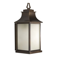 Progress Lighting Salute 1 Light Outdoor Wall in Oil Rubbed Bronze P5954-108
