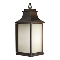 Salute 1 Light 21 inch Oil Rubbed Bronze Outdoor Wall Lantern