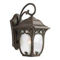 Enchant 1 Light 15 inch Espresso Outdoor Wall Lantern