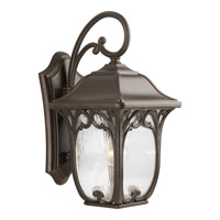 Enchant 1 Light 19 inch Espresso Outdoor Wall Lantern