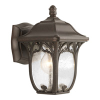 Progress P5967-84 Enchant 1 Light 10 inch Espresso Outdoor Wall Lantern