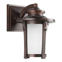 Pedigree 1 Light 10 inch Autumn Haze Outdoor Wall Lantern