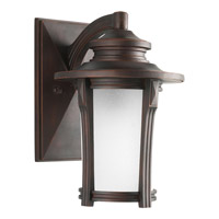 Pedigree 1 Light 13 inch Autumn Haze Outdoor Wall Lantern