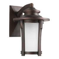 Pedigree 1 Light 17 inch Autumn Haze Outdoor Wall Lantern