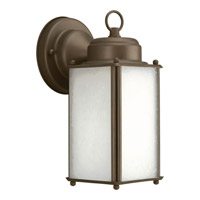 Progress Lighting Roman Coach 1 Light Outdoor Wall Lantern in Antique Bronze P5985-20WB