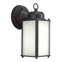 Progress Lighting Roman Coach 1 Light Outdoor Wall Lantern in Black P5985-31WB