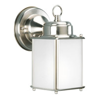 Progress Lighting Roman Coach 1 Light Outdoor Wall Lantern in Brushed Nickel P5986-09 alternative photo thumbnail