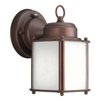 Progress Lighting Roman Coach 1 Light Outdoor Wall in Roman Bronze P5986-19STR