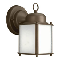 Progress Lighting Roman Coach 1 Light Outdoor Wall Lantern in Antique Bronze P5986-20