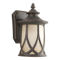 Resort 1 Light 11 inch Aged Copper Outdoor Wall Lantern