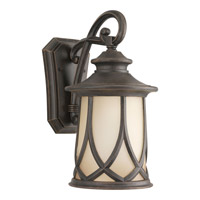 Resort 1 Light 16 inch Aged Copper Outdoor Wall Lantern
