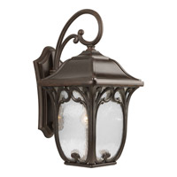 Progress P5996-84 Enchant 1 Light 22 inch Espresso Outdoor Wall Lantern