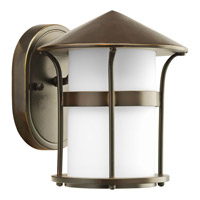 Progress Lighting Welcome 1 Light Outdoor Wall in Antique Bronze P6003-20