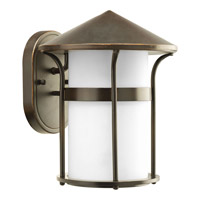Progress Lighting Welcome 1 Light Outdoor Wall in Antique Bronze P6004-20