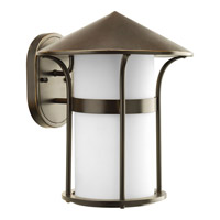 Progress Lighting Welcome 1 Light Outdoor Wall Lantern in Antique Bronze P6005-20