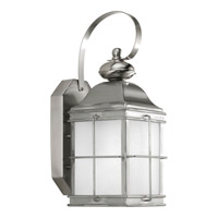 Progress Lighting Promise 1 Light Outdoor Wall Lantern in Stainless Steel P6021-135WB