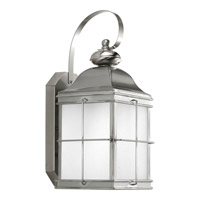 Progress Lighting Promise 1 Light Outdoor Wall Lantern in Stainless Steel P6022-135WB