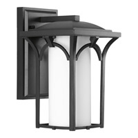 Progress Lighting Promenade 1 Light Wall Lantern in Black P6033-31WB