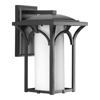 Progress Lighting Promenade 1 Light Wall Lantern in Black P6034-31WB