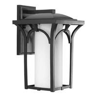 Progress Lighting Promenade 1 Light Wall Lantern in Black P6035-31WB