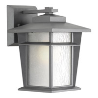 Progress Loyal 1 Light Outdoor Wall Lantern in Textured Graphite P6040-136WB