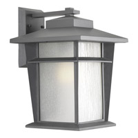 Progress Loyal 1 Light Outdoor Wall Lantern in Textured Graphite P6042-136WB
