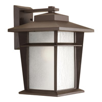 Progress Loyal 1 Light Outdoor Wall Lantern in Antique Bronze P6042-20WB