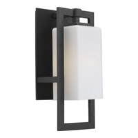 Progress Lighting Jack 1 Light Outdoor Wall Lantern in Black P6045-31WB