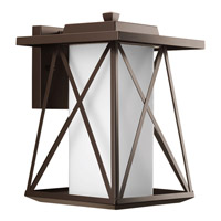 Progress Scope 1 Light Outdoor Wall Lantern in Antique Bronze P6049-20