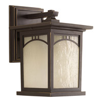 Progress Residence 1 Light Outdoor Wall Lantern in Antique Bronze P6052-20