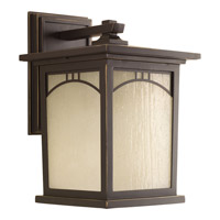 Progress Residence 1 Light Outdoor Wall Lantern in Antique Bronze P6053-20