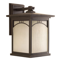 Progress Residence 1 Light Outdoor Wall Lantern in Antique Bronze P6054-20