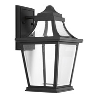Progress Endorse 1 Light Outdoor Wall Lantern in Black P6057-3130K9