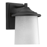 Progress Essential 1 Light Outdoor Wall Lantern in Black P6059-31