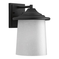 Progress Essential 1 Light Outdoor Wall Lantern in Black P6060-31