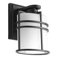Format 1 Light 8 inch Black Outdoor Wall Lantern