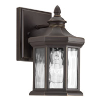 Progress Lighting Edition 1 Light Outdoor Wall Lantern in Antique Bronze with Water Glass P6070-20