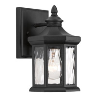 Progress Edition 1 Light Outdoor Wall Lantern in Black P6070-31