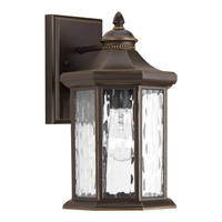 Progress Lighting Edition 1 Light Outdoor Wall Lantern in Antique Bronze with Water Glass P6071-20
