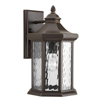 Progress Lighting Edition 1 Light Outdoor Wall Lantern in Antique Bronze with Water Glass P6072-20