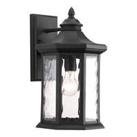 Progress Edition 1 Light Outdoor Wall Lantern in Black P6072-31