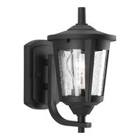 Progress P6073-31 East Haven 1 Light 10 inch Black Outdoor Wall Lantern