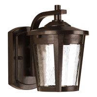 Progress Lighting East Haven 1 Light LED Outdoor Wall Lantern in Antique Bronze with Clear Seeded Glass P6077-2030K9