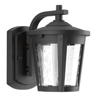 East Haven LED 8 inch Black Outdoor Wall Lantern