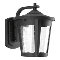 Progress Lighting East Haven 1 Light LED Outdoor Wall Lantern in Black with Clear Seeded Glass P6078-3130K9