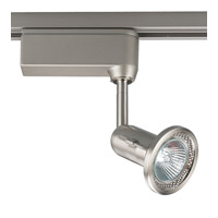 Progress Lighting Miniature Halogen 1 Light Track Head in Brushed Nickel P6104-09