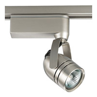 Progress Lighting Miniature Halogen 1 Light Track Head in Brushed Nickel P6105-09
