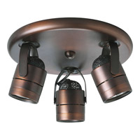 Progress Lighting Directional 3 Light Close-to-Ceiling in Urban Bronze P6153-174WB